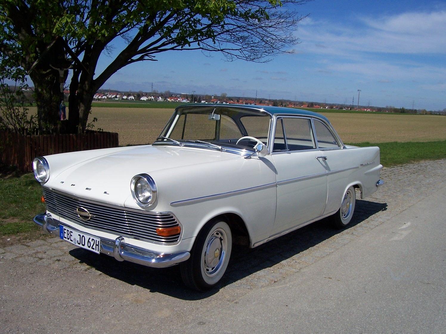 Opel Rekord P 2 Coupé Robert