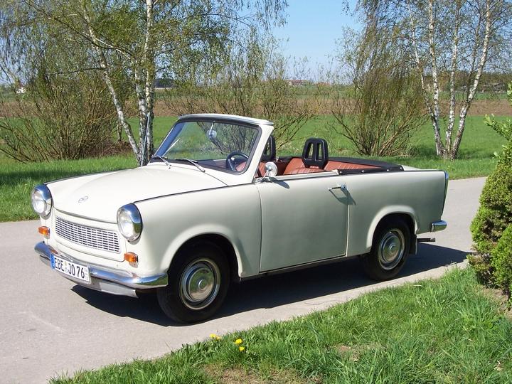 Trabant Cabrio Cindy